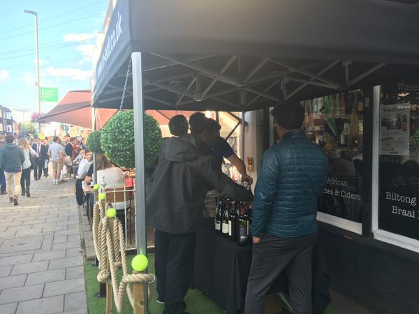 SWC conduct a special Wimbledon themed Savanna Wine Tasting