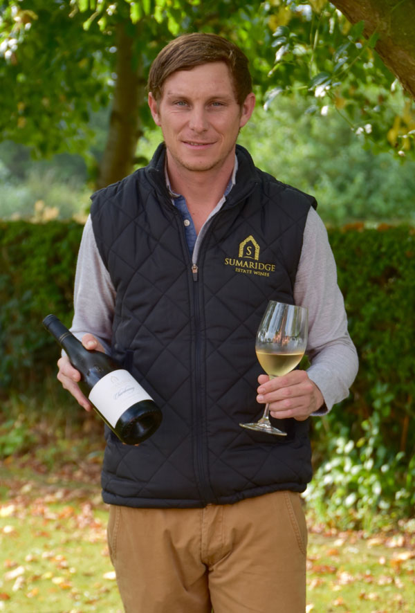 SWC's Sumaridge Estate Winemaker, Walter Pretorius visits the UK and holds a winetasting at the ICAEW