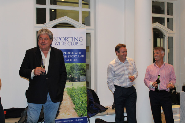SWC Schalk Burger & Sons Winetasting Evening at the ICAEW