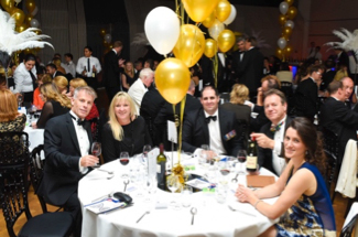 SWC get into the 1920s mood with a Bellini Bar at the ICAEW's Gala Ball