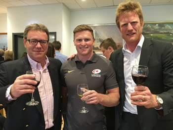SWC tasting at Saracens in support of the 'Life After Rugby' programme