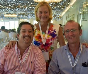 Simon Turner, Holly Bellingham and Gavin Patterson