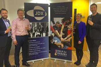 SWC charity wine tasting at JDX