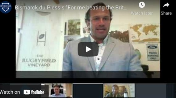 Lions Rugby – Simon Halliday Chats with Bismarck Du Plessis